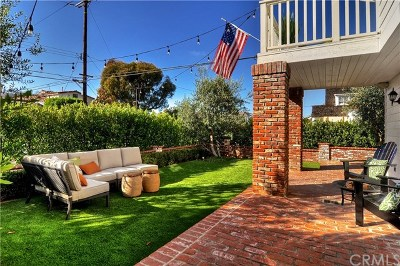 Corona Del Mar Single Family Home For Sale: 416 Acacia