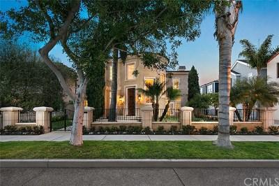 Single Family Home For Sale: 1806 E Balboa Boulevard