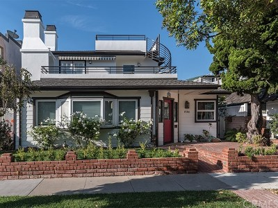 Newport Beach Single Family Home For Sale: 1584 E Ocean Boulevard