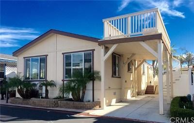 Newport Beach Mobile Home For Sale: 49 Saratoga