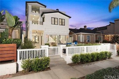 Corona del Mar Multi Family Home For Sale: 608 Heliotrope Ave.