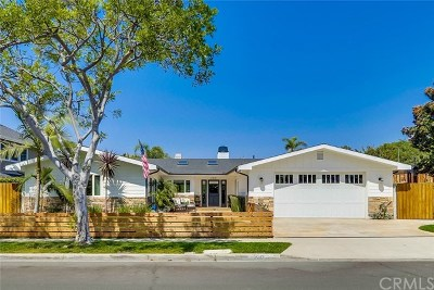 Newport Beach Single Family Home For Sale: 1312 Nottingham Road
