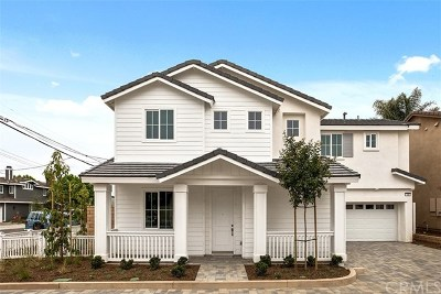 Costa Mesa Single Family Home For Sale: 125 E 23rd Street #Lot 2