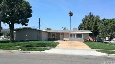 Costa Mesa Single Family Home For Sale: 1600 White Oak Street