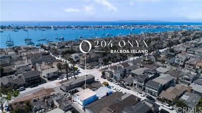 Balboa Island - Main Island (Balm) Multi Family Home For Sale: 204 Onyx Avenue