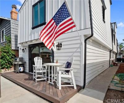Newport Beach Multi Family Home For Sale: 312 36th Street
