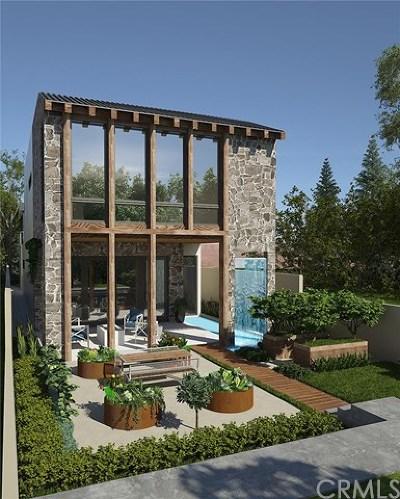 Corona del Mar Single Family Home For Sale: 606 Orchid Avenue