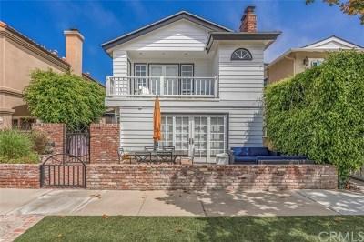 Newport Beach Single Family Home For Sale: 2108 Miramar Drive