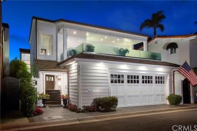 Newport Beach Single Family Home For Sale: 125 Via Mentone