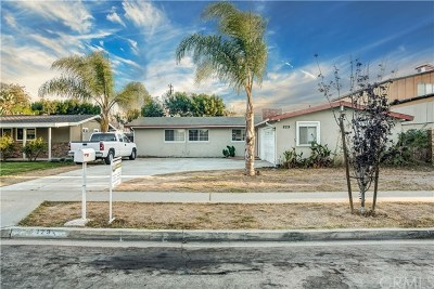 Costa Mesa Single Family Home For Sale: 829 Towne Street