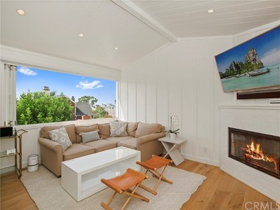 Corona del Mar Condo/Townhouse For Sale: 618 Poinsettia Avenue