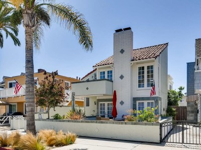 Newport Beach Condo/Townhouse For Sale: 1631 E Balboa Boulevard #2