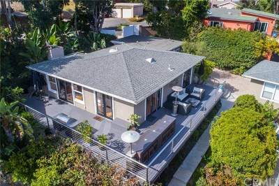Laguna Beach Single Family Home Active Under Contract: 1295 Dunning Drive