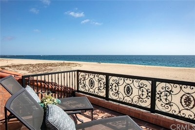 Newport Beach Single Family Home For Sale: 1556 E Oceanfront