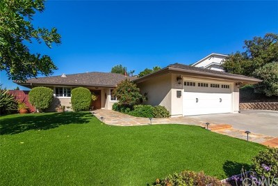 Laguna Niguel Single Family Home For Sale: 24271 Los Serranos Drive