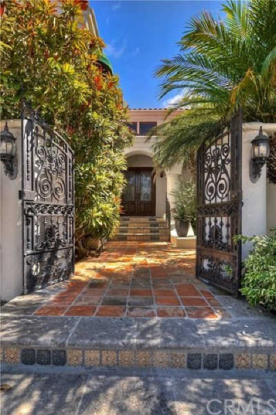 Newport Beach Single Family Home For Sale: 5 Trafalgar