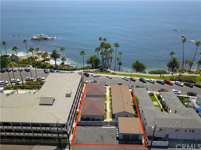 Laguna Beach Multi Family Home For Sale: 356 Cliff Drive