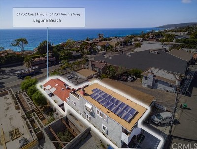 Laguna Beach Multi Family Home For Sale: 31732 Coast