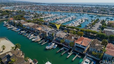 Newport Beach Single Family Home For Sale: 748 Harbor Island Drive