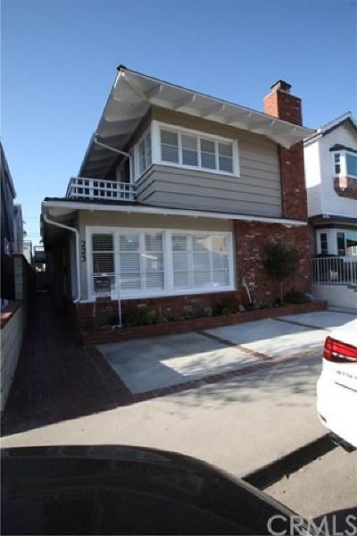Newport Beach Rental For Rent: 223 Pearl