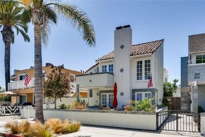 Newport Beach Rental For Rent: 1631 E Balboa Boulevard #2