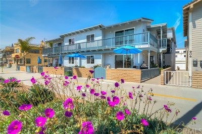 Newport Beach Multi Family Home For Sale: 900 E Oceanfront