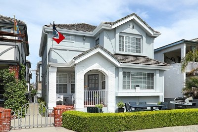 Balboa Island - Main Island (Balm) Single Family Home For Sale: 203 Agate Avenue