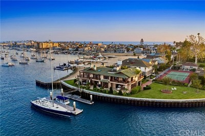 Newport Beach Single Family Home For Sale: 12 Bay Island