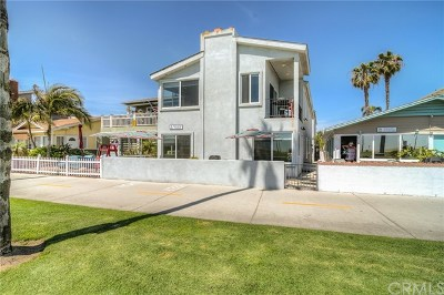 Newport Beach Multi Family Home For Sale: 916 E Oceanfront