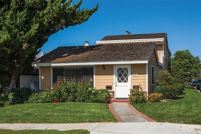 Orange County Rental For Rent: 721 Orchid Avenue
