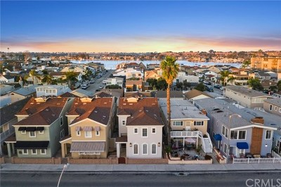 Newport Beach, Corona Del Mar, Newport Coast Multi Family Home For Sale: 210 E Balboa Boulevard