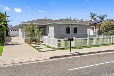 Costa Mesa Single Family Home For Sale: 339 19th St