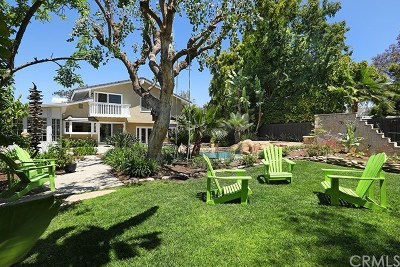 Newport Beach Single Family Home Active Under Contract: 1827 Port Seabourne Way