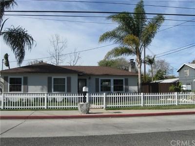 Costa Mesa Single Family Home For Sale: 1907 Orange