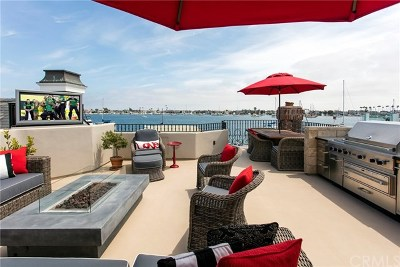 Balboa Island - Main Island (Balm) Single Family Home For Sale: 808 South Bay Front