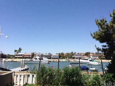 Balboa Island - Main Island (Balm) Single Family Home For Sale: 139 N. Bay Front