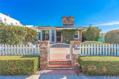Corona Del Mar Single Family Home For Sale: 424 Marigold Avenue