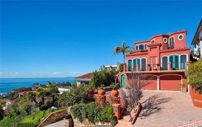 Laguna Beach CA Single Family Home For Sale: $3,995,000
