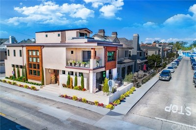 Balboa Island - Main Island (Balm) Single Family Home For Sale: 301 Diamond Avenue