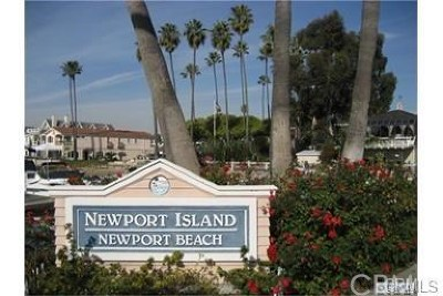 Newport Beach Rental For Rent: 3711 Channel Place