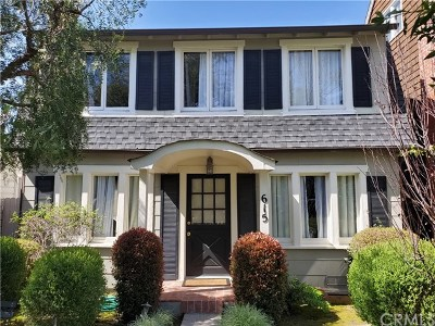 Corona Del Mar, Newport Coast Rental For Rent: 615 Acacia Avenue