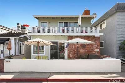 Newport Beach Rental For Rent: 118 44th Street #B
