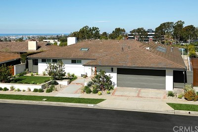 Corona del Mar Single Family Home For Sale: 1221 Surfline Way