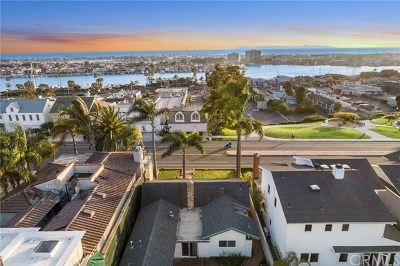 Newport Beach Single Family Home For Sale: 2404 Cliff Drive