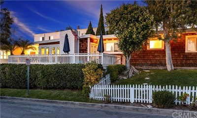 Corona del Mar Single Family Home For Sale: 601 Jasmine Avenue