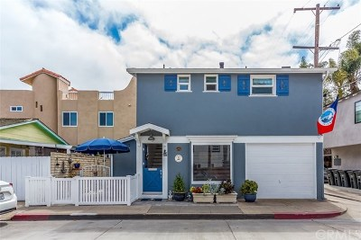 Newport Beach Single Family Home For Sale: 1207 Park Avenue