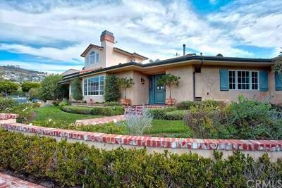 Laguna Beach Single Family Home For Sale: 138 Emerald Bay