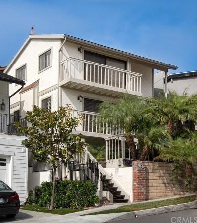 Corona del Mar Multi Family Home For Sale: 405 Heliotrope Avenue