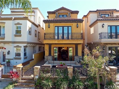 Huntington Beach CA Single Family Home For Sale: $1,950,000