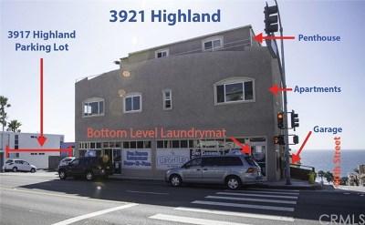 Manhattan Beach Commercial For Sale: 3917 Highland Avenue